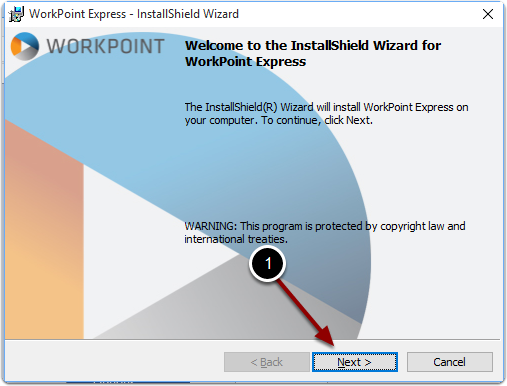 Installing WorkPoint Express