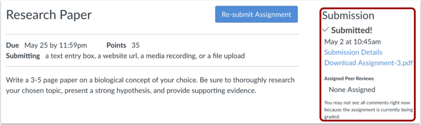 how do i upload a file as an assignment submiss canvas lms
