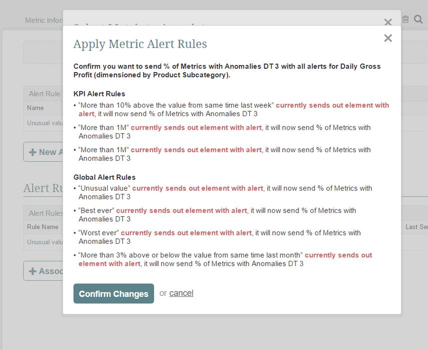 Associating additional Alert Rules