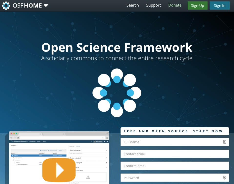 What is the Open Science Framework?