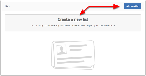 create a list activecampaign help center