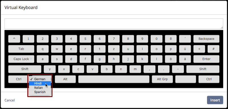 Configuring Virtual Keyboard – Teamie Help Center