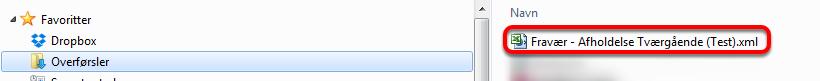 Gå nu til den mappe på din computer hvor downloadede filer anbringes