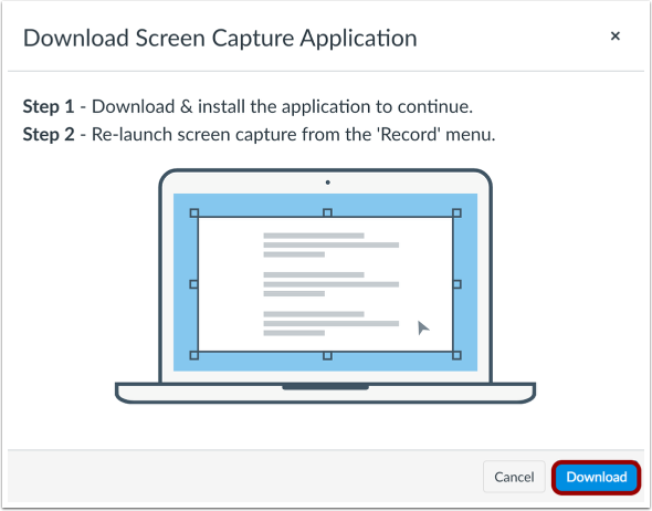 Download and Install Screen Capture Application