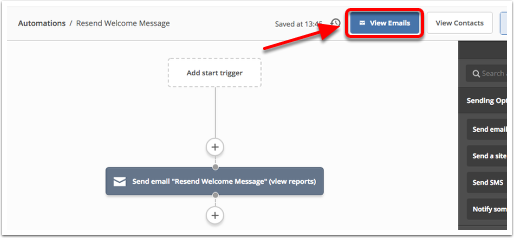 How do i save an automation email as a template activecampaign a modal will open and will list all of the emails in your automation to save one of the emails as a template click the down caret next to that emails maxwellsz