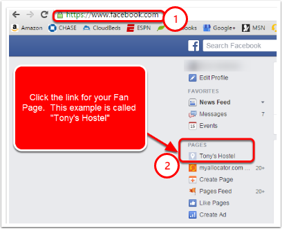 I am unable to add the BookNow widget to my Facebook page – Myallocator