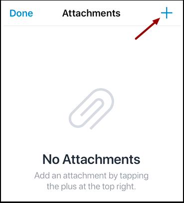 Add Attachment