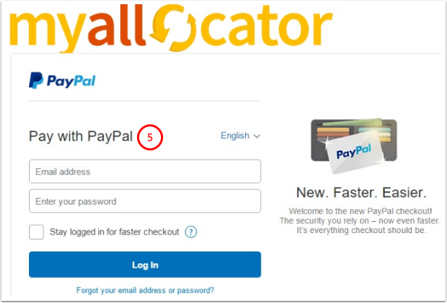 paypal agreement was canceled myallocator