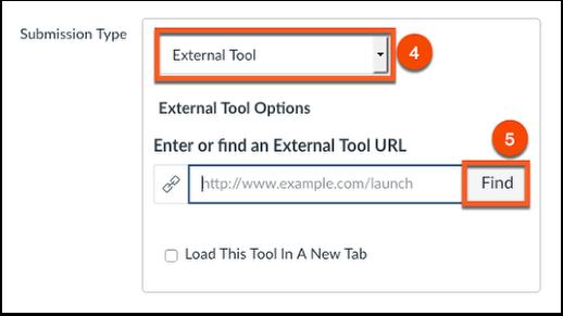 Choose the external tool