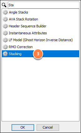 Create stacking process