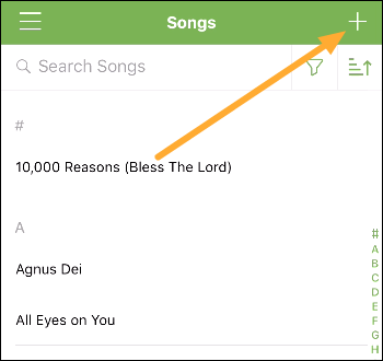 songs library