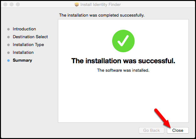 Installing Identity Finder on a Mac | Software Guides | IT
