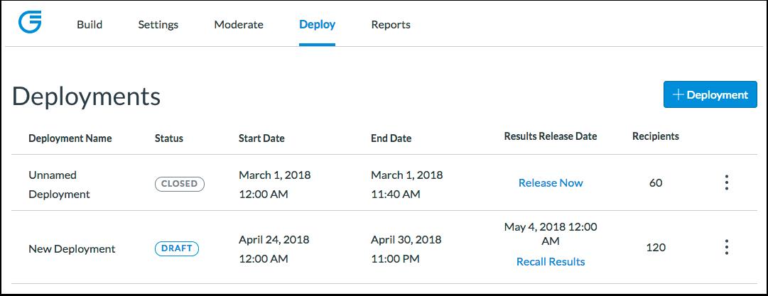Customize Deployments