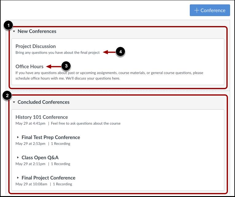 View Conferences