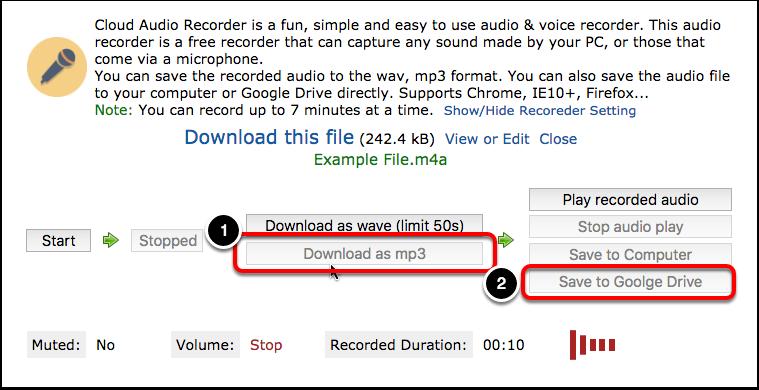 Cloud Audio Recorder - Embed into Blackboard – Oklahoma Christian