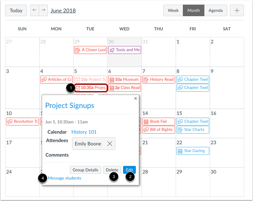 Manage Appointment Slot