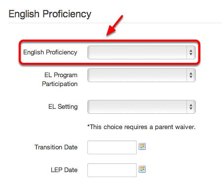 LEP Instructional Program