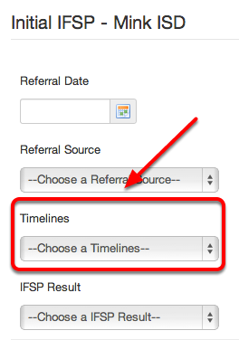 IFSP Timeliness
