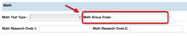 Math Group Code