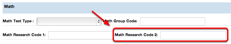 Math Research Code 2