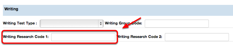 Writing Research Code 1