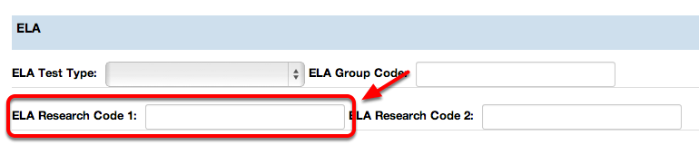 ELA Research Code 1