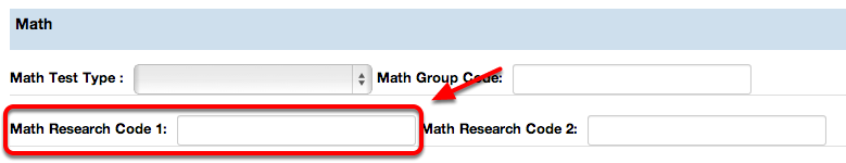 Math Research Code 1