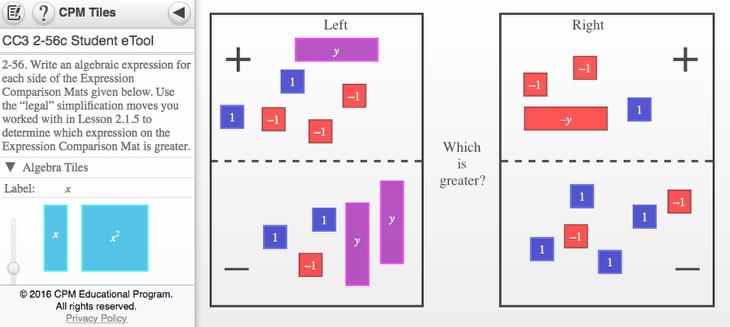 CC3 Lesson 2.1.6 2-56c:
