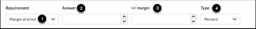Select Margin of Error