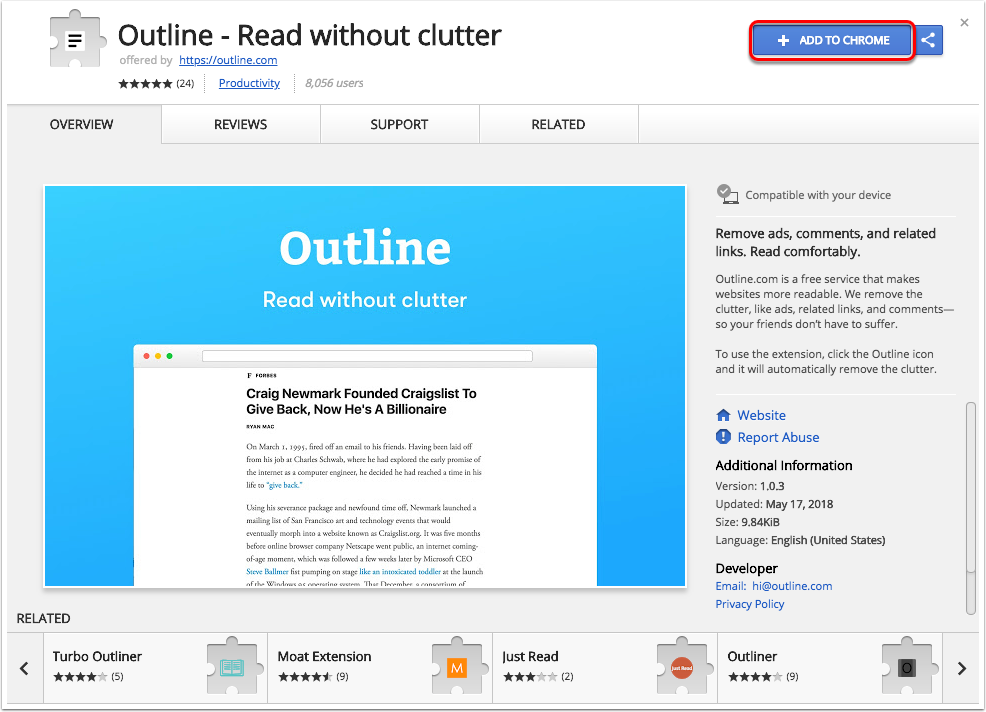 Outline Read Websites Without Clutter Oklahoma Christian University