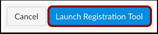 Launch Registration Tool