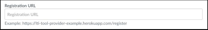 Add Registration URL