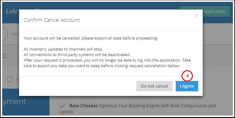 Cancel care com account