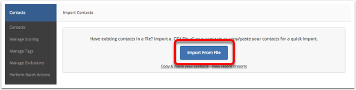 Importing and adding your contacts – ActiveCampaign Help Center