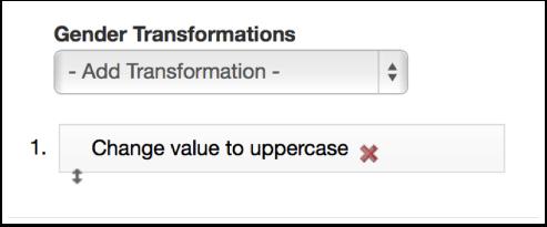 Adding additional Transformations
