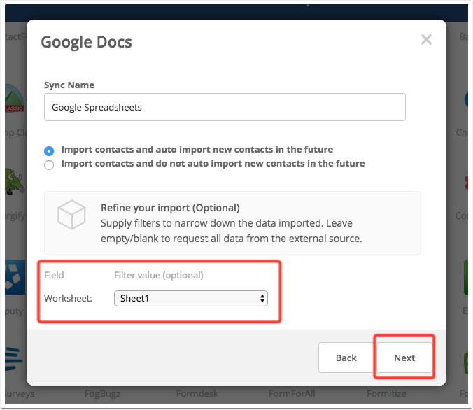 Google Sheets Integration Activecampaign Help Center