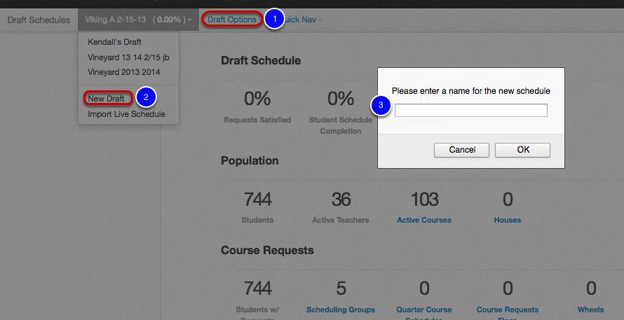 4 1 create a draft schedule illuminate education