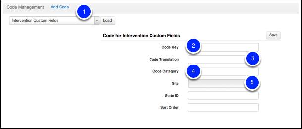 Intervention Custom Fields