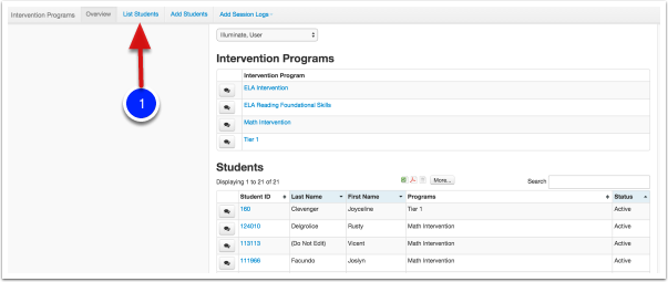 Removing Students from a Program
