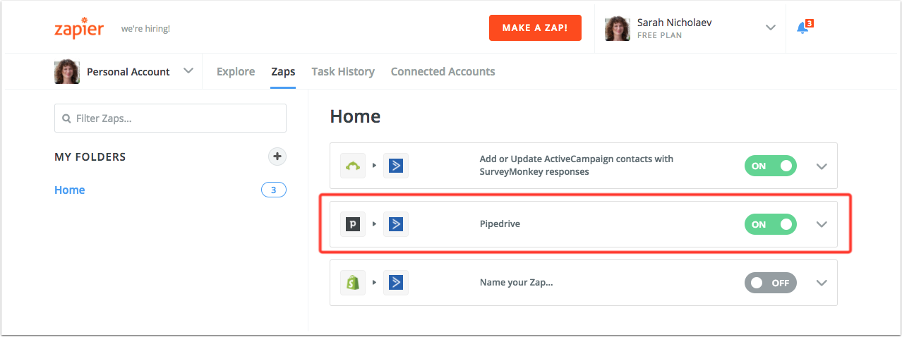 Pipedrive integration – ActiveCampaign Help Center