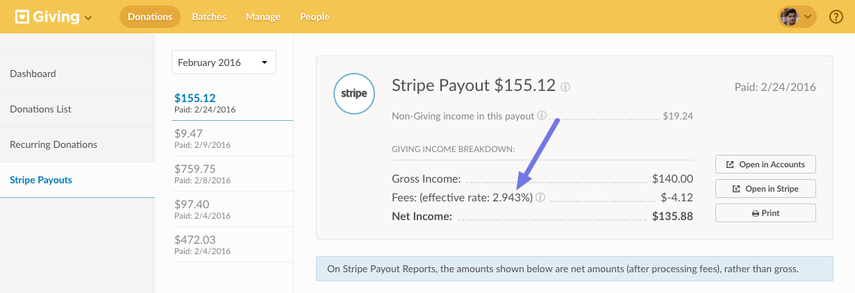 stripe payout
