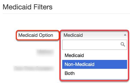Choosing Report Filters