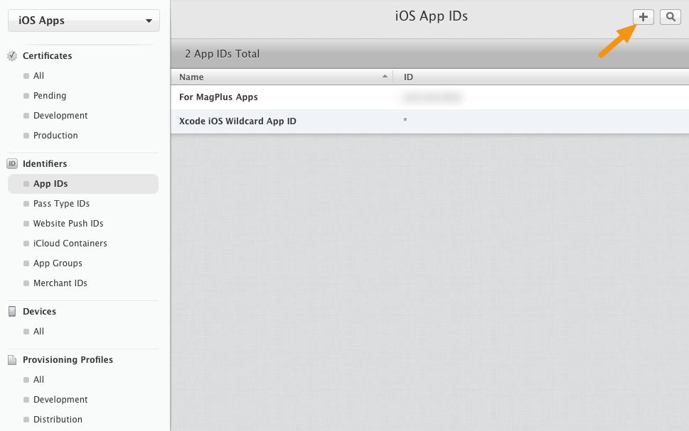 iOS - Creating App IDs – Mag+ Designd Support
