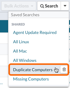 Duplicate Computers Saved Search