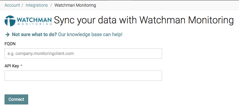 IT Glue Watchman Integration