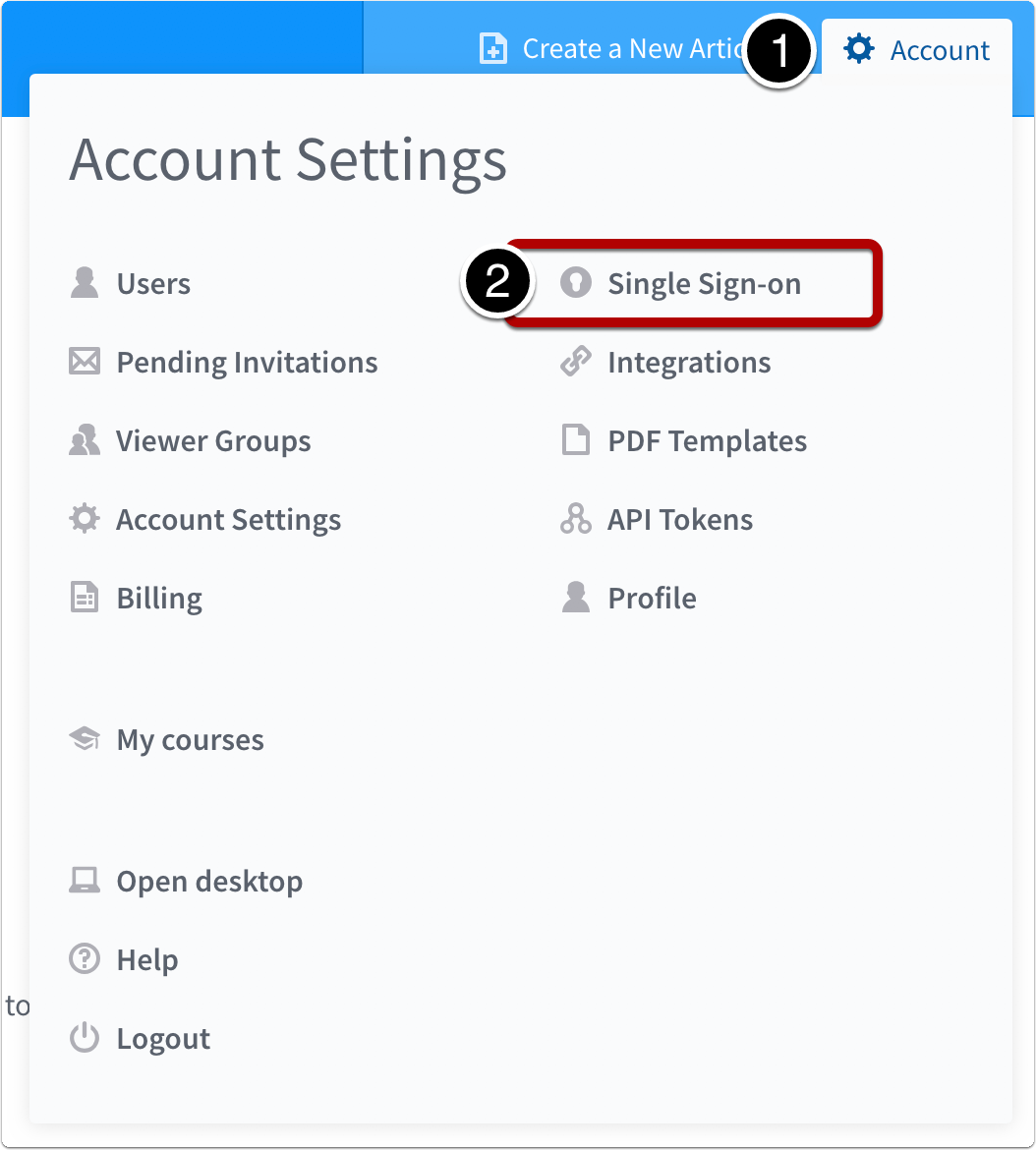 Open Single Sign-on