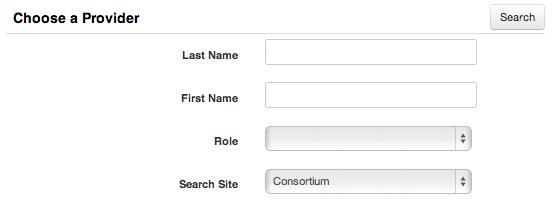 Provider Search