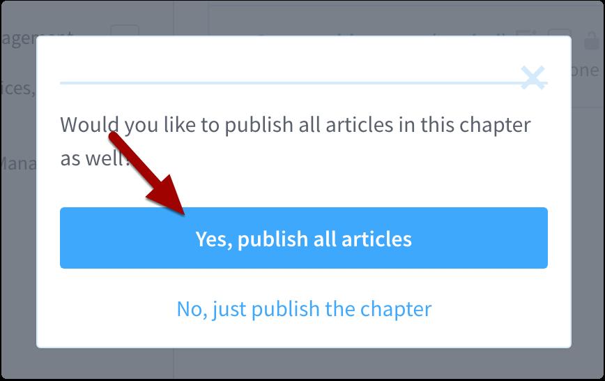 publish all articles