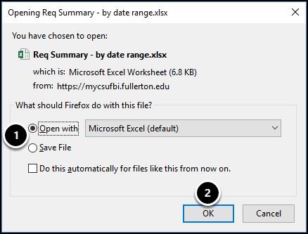 Open file dialog box