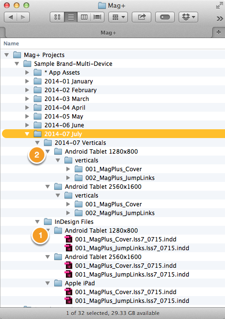 Converted files will appear where you specified.